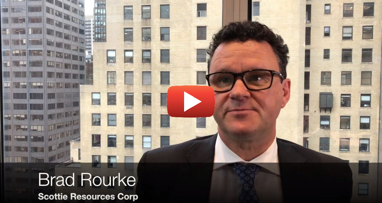 Interview: Brad Rourke, CEO Scottie Resources - 121 Mining Investment New York Autumn 2019