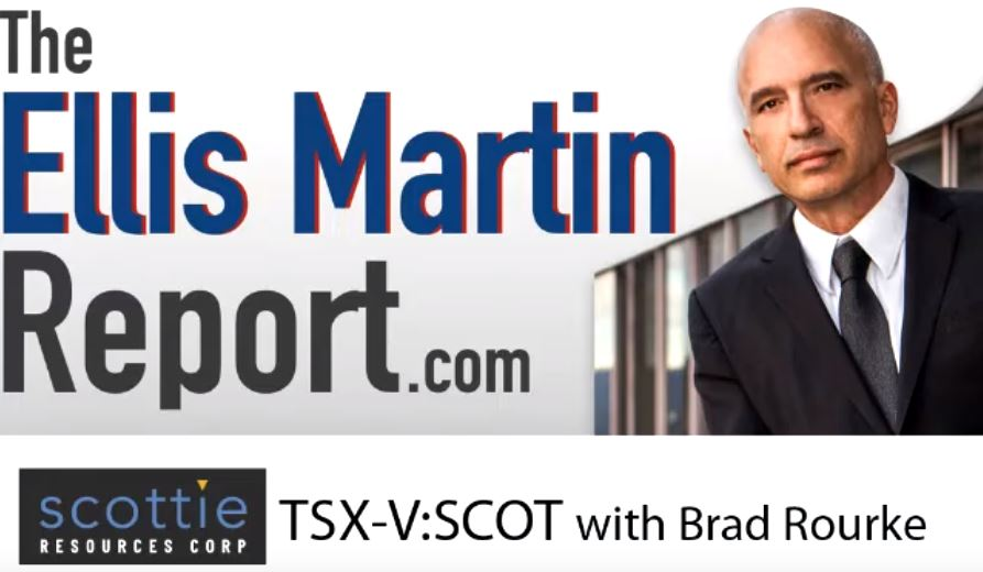 Ellis Martin Report with Scottie Resources' Brad Rourke at Mines and Money London