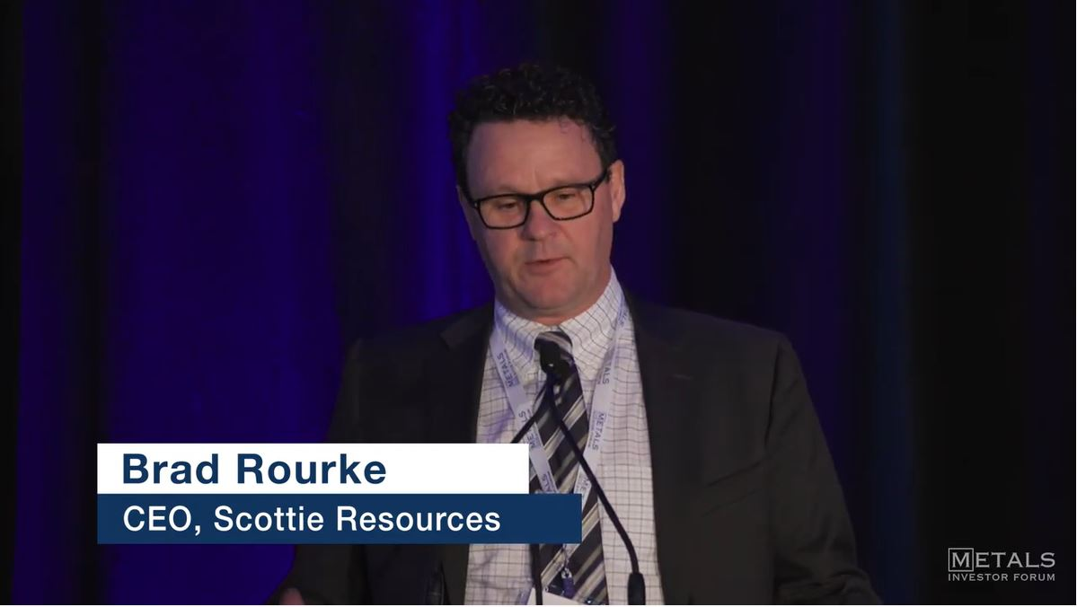 Bradley Rourke, CEO & President of Scottie Resources Presents at MIF Toronto on February 28 and March 1, 2020